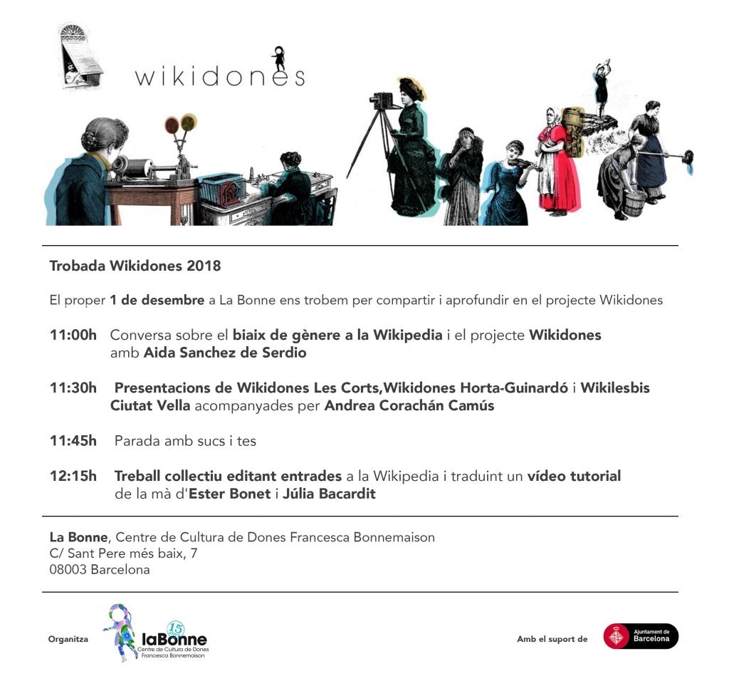 Trobada Wikidones 2018